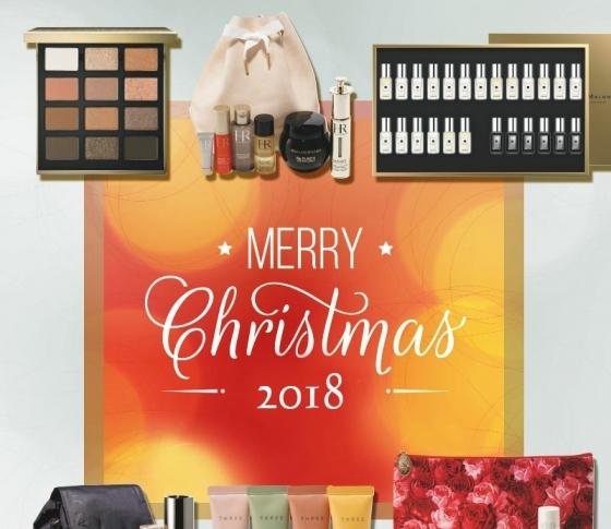 2018年クリスマスコフレ|明日11月30日もコフレ祭りです!【ランコム・ルナソル・THREE】