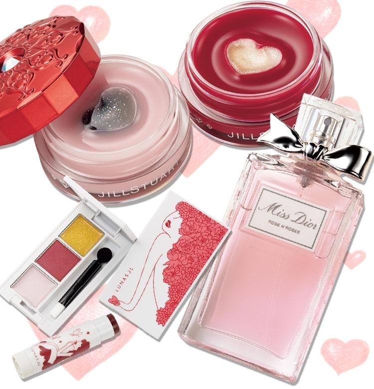 【本日発売コスメ】ジルとルナソルのバレンタインコスメが可愛すぎて話題です♡