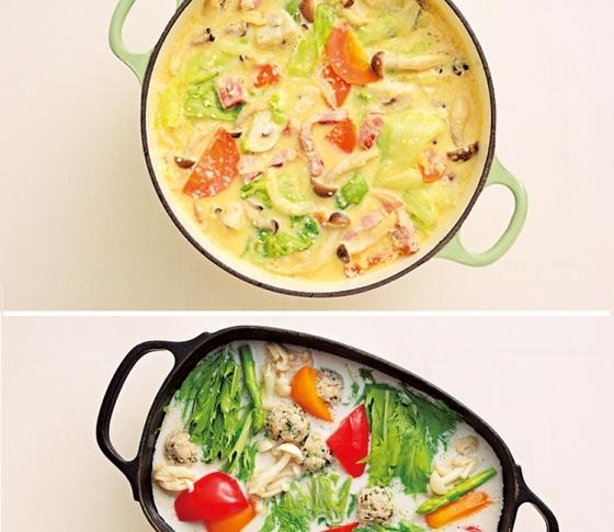 美肌になれる 太らない ヘルシーミルキー鍋レシピ