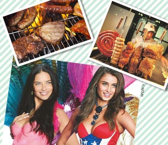 ヴィクシーモデルは、ショー前に肉修行!? 世界の最先端ダイエット