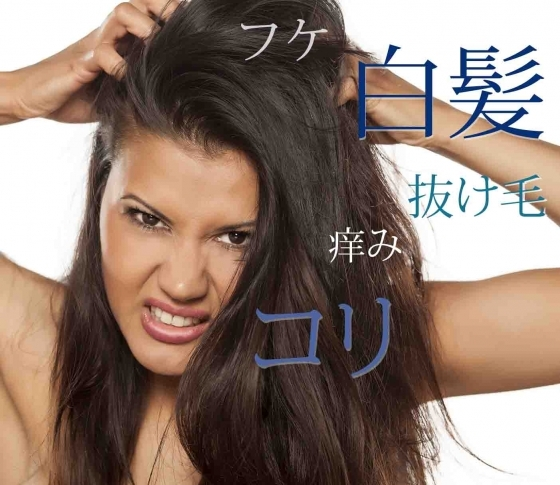 【白髪・抜け毛】【フケ・痒み】【頭皮のコリ】すぐに結果が出るヘアケア、あります!