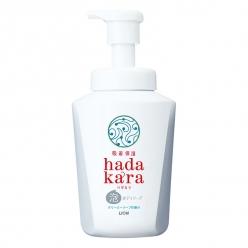hadakaraボディソープ 泡で出てくるタイプ クリーミーソープの香り