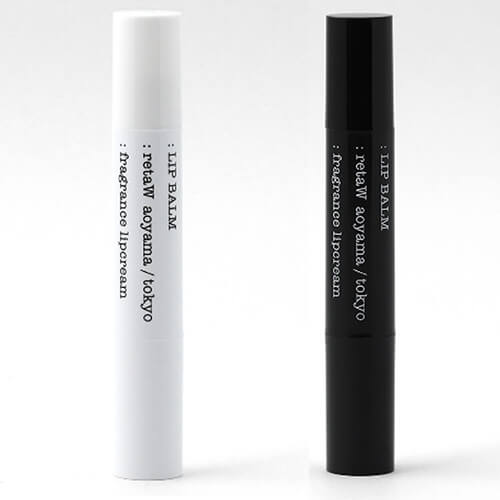 retaW,lip balm fragment design