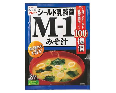 シールド乳酸菌®M-1みそ汁 3食入り ¥130/永谷園