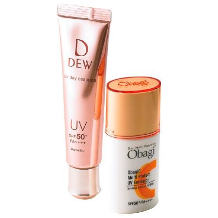 オバジC マルチプロテクト UV乳液,DEW UVデイエッセンス