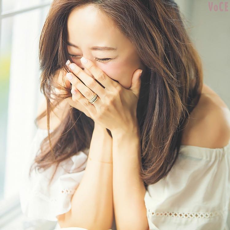 VOCE8月号,神崎恵,名越康文,対談