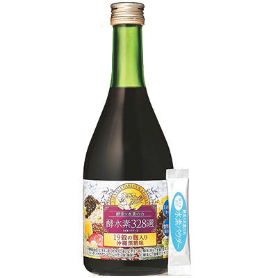 酵水素328選生サプリメント,酵水素328選ドリンク沖縄黒糖味