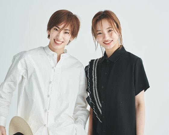 柚香光さんと華優希さん