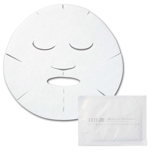 アクセーヌ ホワイト エマルジョン ディープ モイスチュア C マスク 5枚入り ¥5000