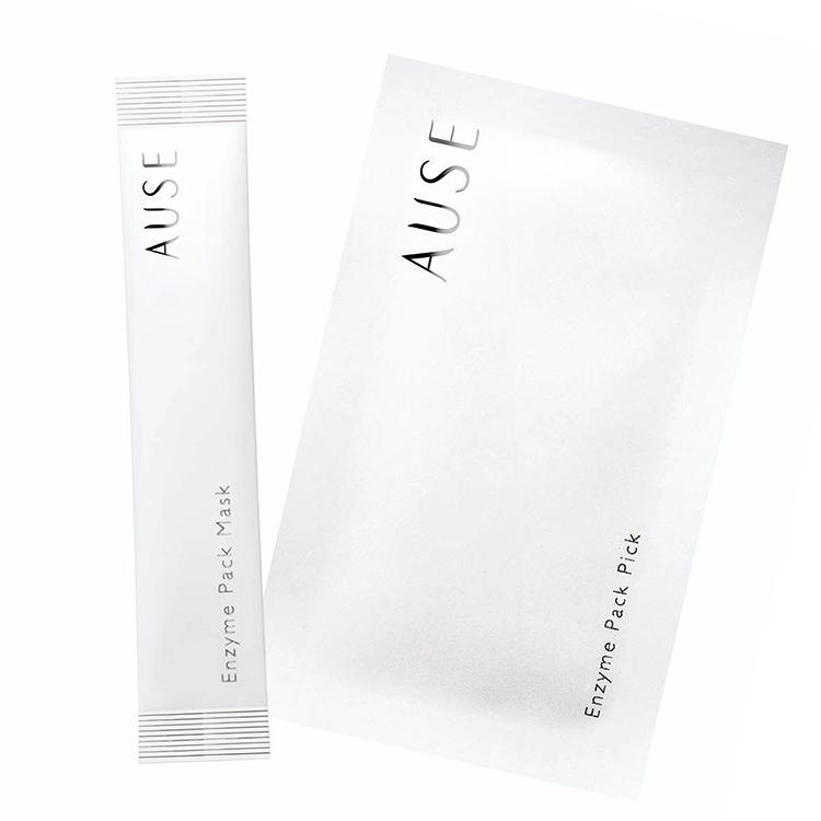 AUSE マスク 24包 ¥2000、同 ピックアップクリーム 12包 ¥3000/ハリウッド化粧品