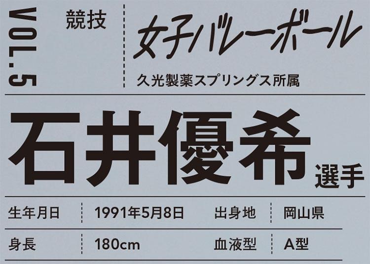 PROFILE/石井優希