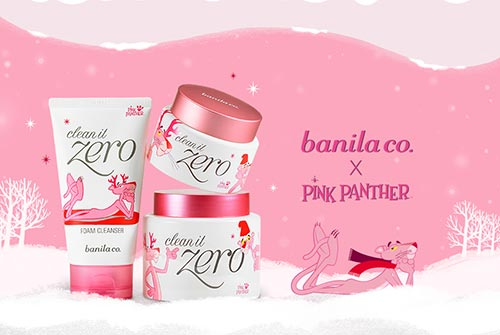 banila co.,Pink Holiday Edition,clean it zero