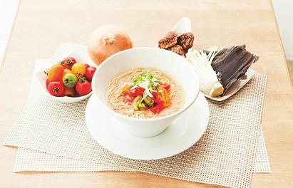 Vigan醤油ラーメン,Cafe the 6BT