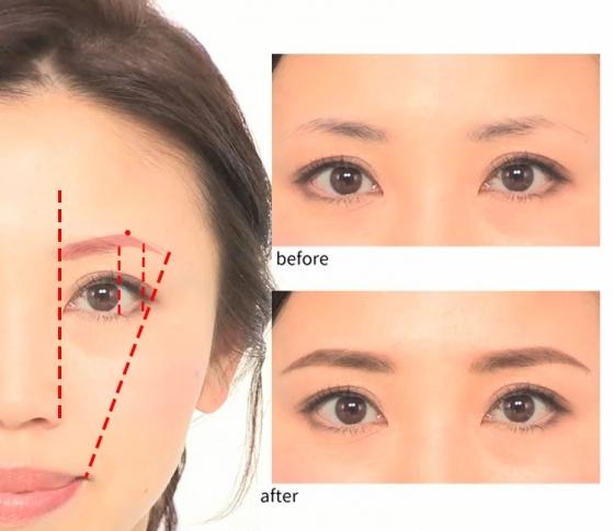 【眉毛の書き方】ケイトのアイブロウパウダーとペンシルでつくる!簡単6ステップ【誰でも簡単に美眉】