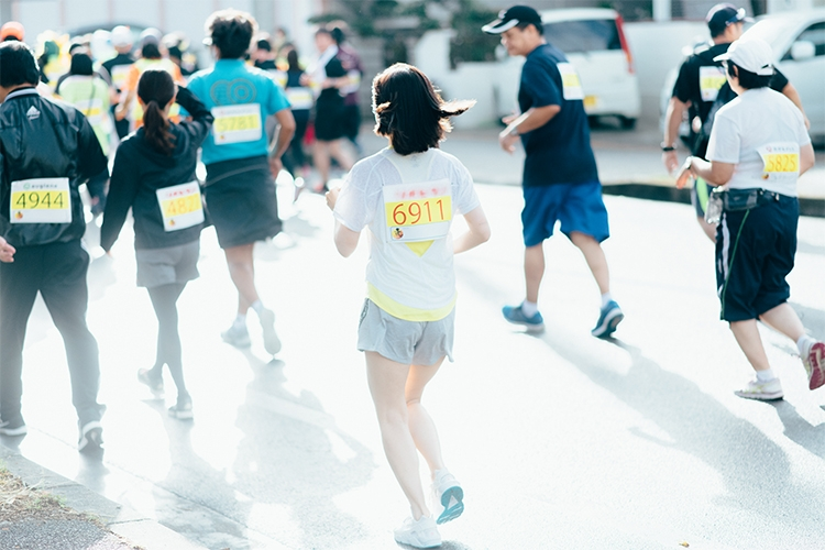 マラソン10kmのコース