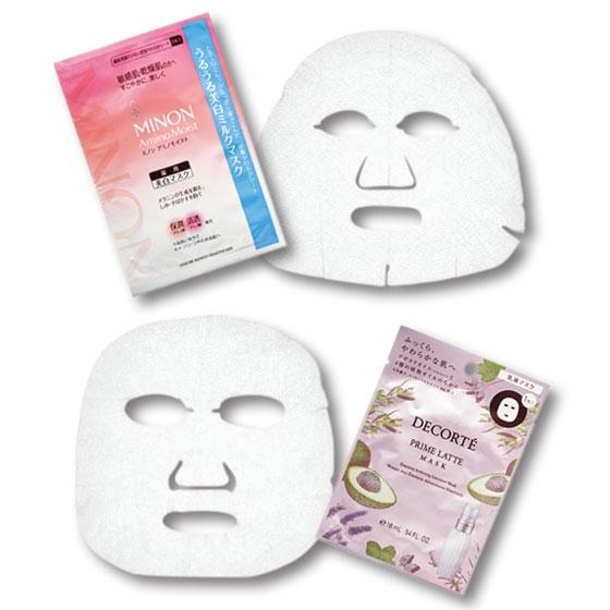 ミノン アミノモイスト うるうる美白ミルクマスク/プリム ラテ マスク