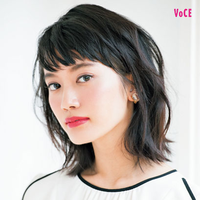 VOCE2017年12月号 甲斐まりか