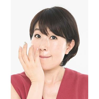 3.赤みが出やすいパーツは小指で手厚くフォロー