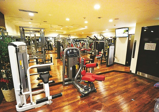 GOLD´S GYM,加圧サイクル