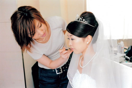 【25~29歳】所属ヘアメイク&ウェディングヘアメイク時代/長井かおり