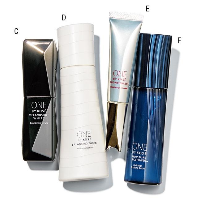 メラノショット ホワイト D、ザ リンクレスバランシング チューナー、薬用保湿美容液