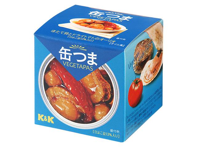 ホタテ貝とドライトマトのオーリオ,缶詰おつまみ