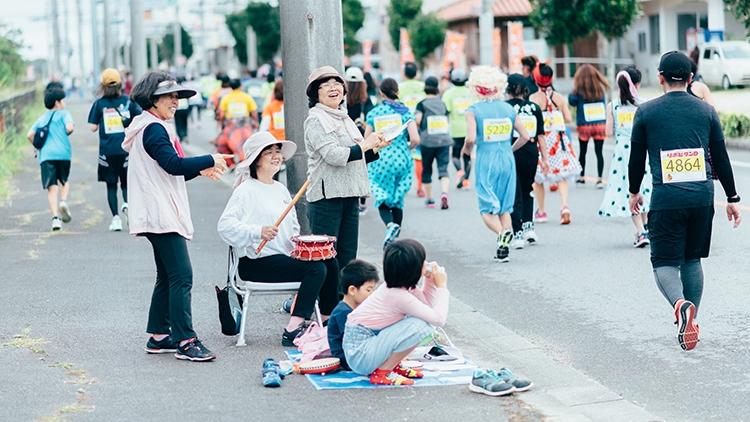 石垣島マラソン応援