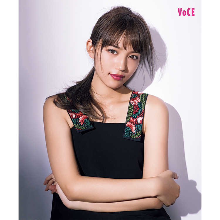 VOCE2018年3月号 川口春奈