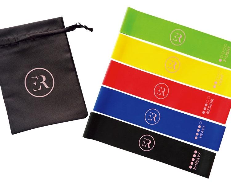 5 Resistance Bands Set + Free Pouch Bag