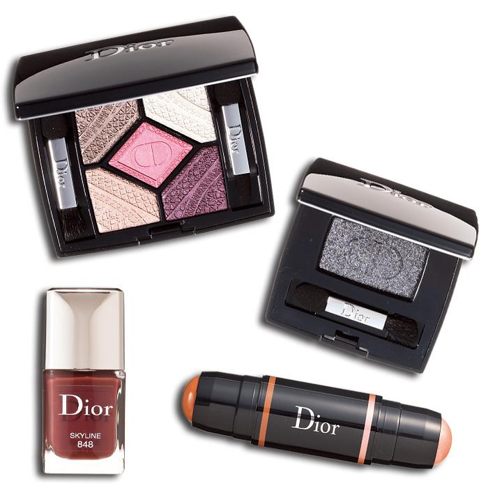 Dior,ディオール,サンク クルール スカイライン,ディオールショウ モノ グロス,ディオール ヴェルニ,ディオール ブラッシュ ライト & コントゥール