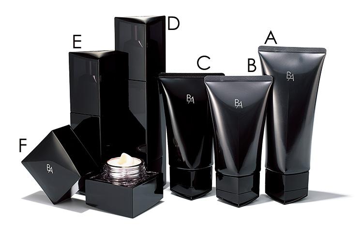 B.A クレンジングクリーム,B.A ウォッシュ,B.A マッサージクリーム,B.A ローション,B.A ミルク,B.A クリーム,