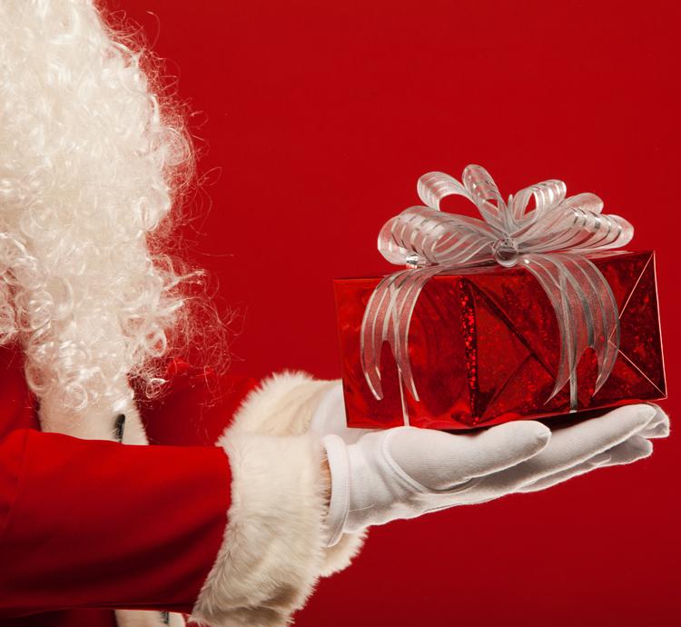 クリスマス,サンタ,プレゼント