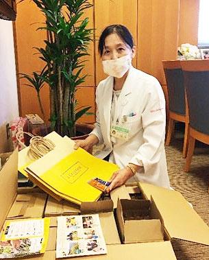 <ロクシタン>医療従事者にハンドクリーム約5150個を寄付