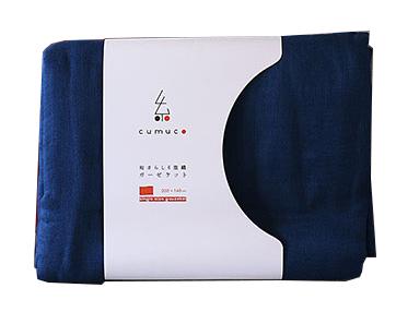 クムコ 和さらし6重織ガーゼケット シングル¥9000/公大