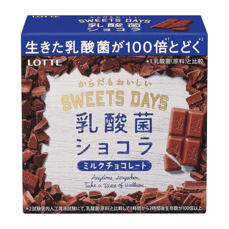 スイーツデイズ 乳酸菌ショコラ,ロッテ,