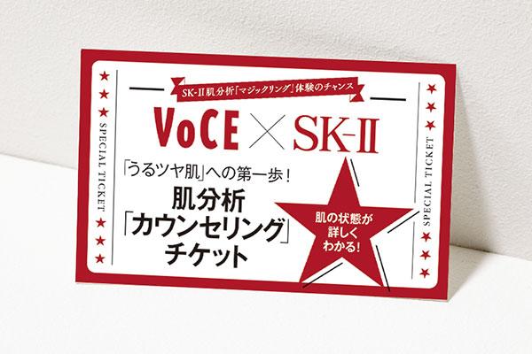 SK-2肌分析カウンセリングチケット
