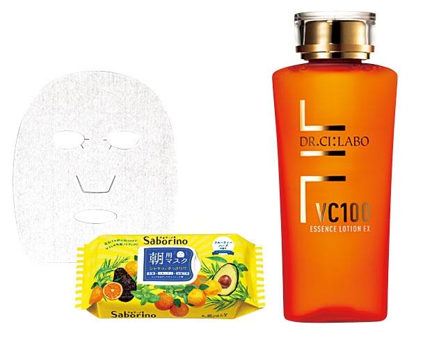 サボリーノ 目ざまシート/VC100エッセンスローションEX