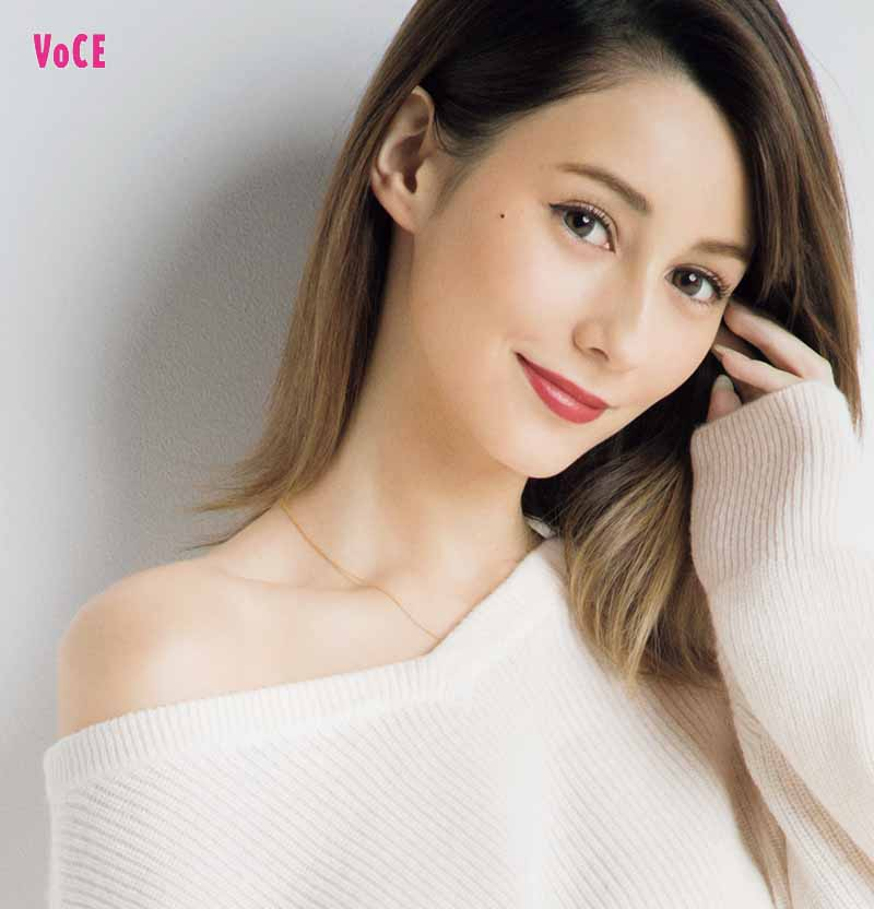 VOCE2019年1月号 ダレノガレ明美