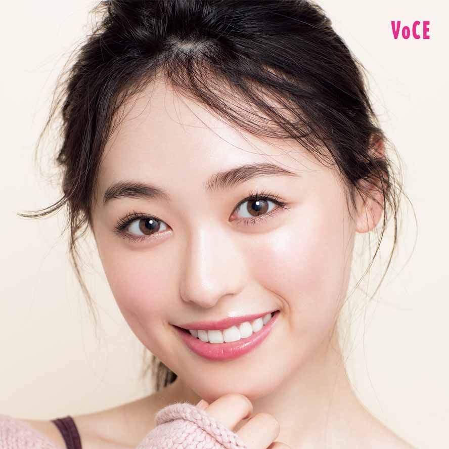 VOCE2017年12月号 福原遥