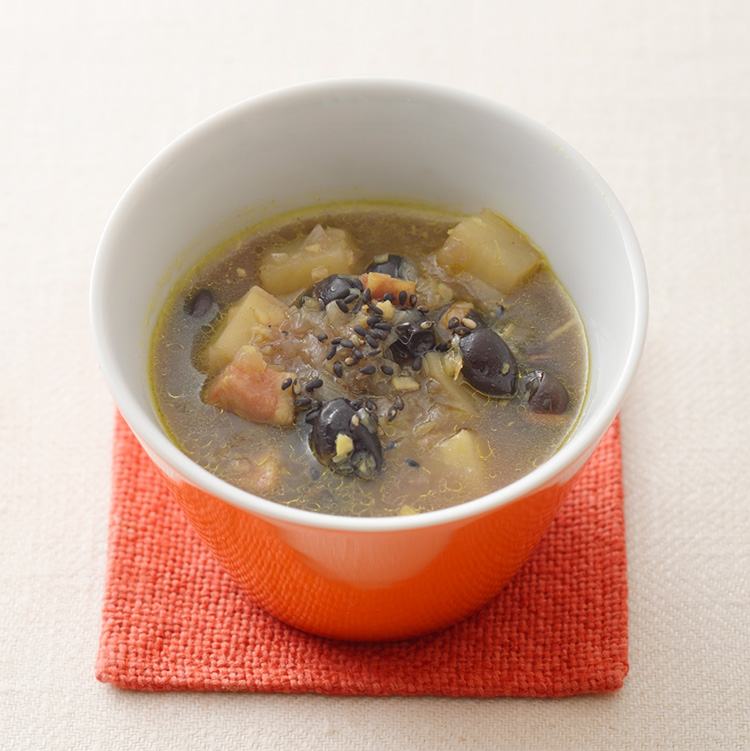 薬膳レシピ,黒豆のホットスパイシースープ