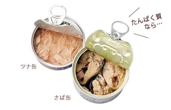 ツナ缶、サバ缶