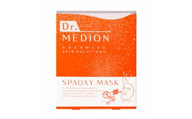 ドクターメディオン,炭酸シートマスク スパオキシマスク