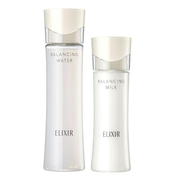 エリクシール ルフレ 化粧水&乳液