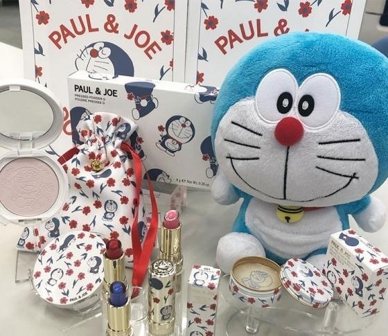 4月5日限定発売!【2019年春新色 PAUL & JOE】ポール & ジョー × ドラえもんのスペシャルすぎるコラボが実現!