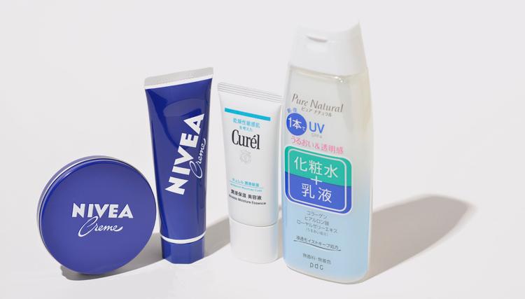 NIVEA,ニベア,ニベアクリーム,花王,curel,キュレル,潤浸保湿 美容液,pdc,ピュア ナチュラル,エッセンスローション