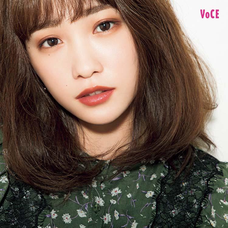 VOCE2019年1月号 川栄 李奈