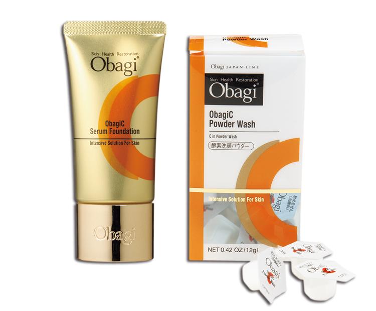 オバジ,オバジC セラムファンデーション,オバジC 酵素洗顔パウダー