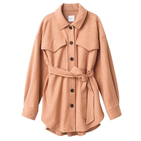 共布ベルト付きジャケット/アメリヴィンテージ