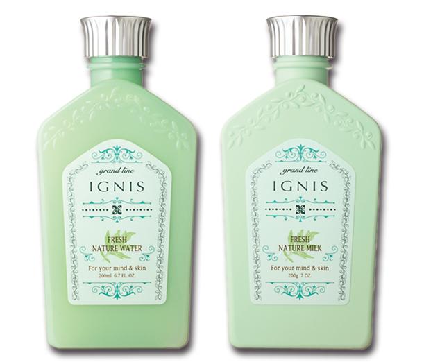 IGNIS,イグニス,フレッシュ ネイチャー ウォーター,フレッシュ ネイチャー ミルク