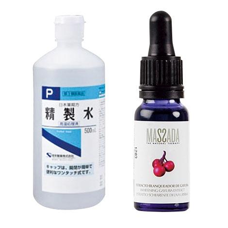 精製水/マサダ ホワイトエッセンス